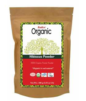 ORGANIC HIBISCUS Hair & Wash Treatment 100g