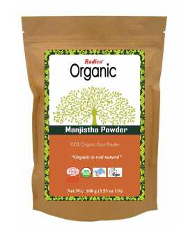 ORGANIC MANJISTHA Hair Wash & Treatment 100g