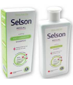 Regal Selson ANTI-DANDRUFF SOOTHING Shampoo with 1% Selenium Sulfide for ALL HAIR TYPES 200ml
