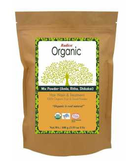ORGANIC AMLA, REETHA & SHIKAKAI Hair Wash & Treatment 100g