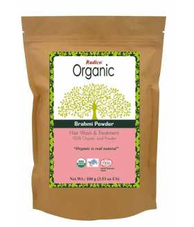ORGANIC BRAHMI Hair Wash & Treatment 100g