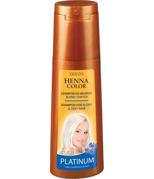 HENNA COLOR Shampoo for Blonde & Grey Hair 250ml