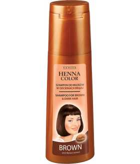 HENNA COLOR Shampoo for Brown & Dark Hair 250ml