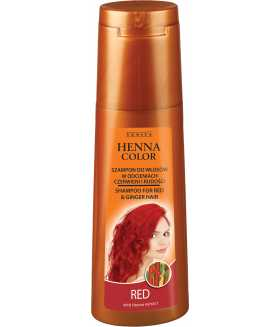 HENNA COLOR Shampoo for Red & Reddish Hair 250ml