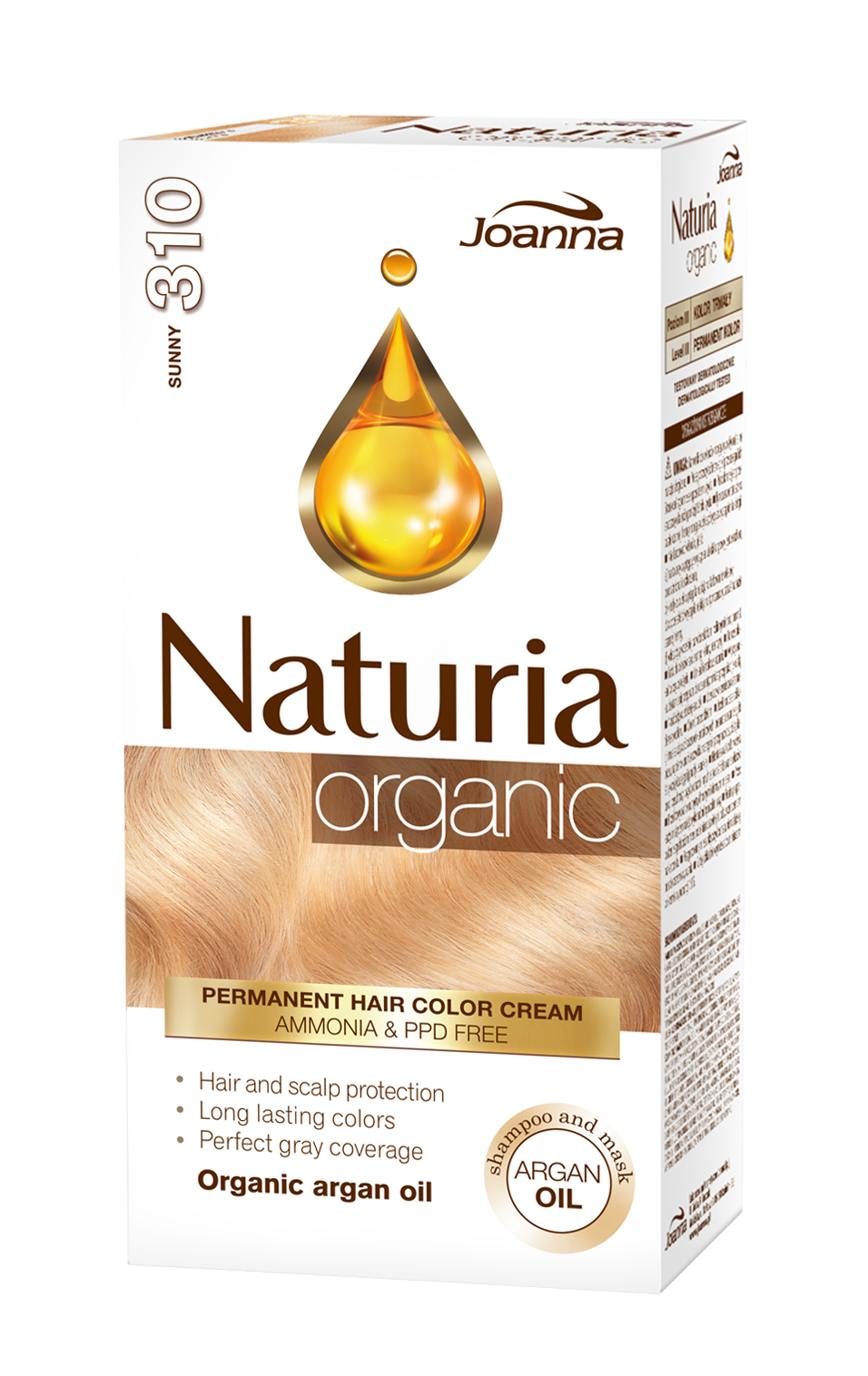 Naturia Organic Permanent Ppf Free Hair Color Cream